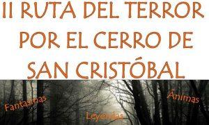 II Ruta del Terror por el Cerro de San Cristóbal de Estepa