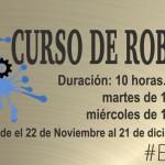 Curso gratuito de robótica en Estepa