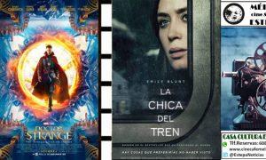 Cine en Estepa: «Doctor Strange» y «La chica del tren»