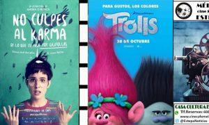 Cine en Estepa: «No culpes al Karma» y últimos pases de «Trolls»