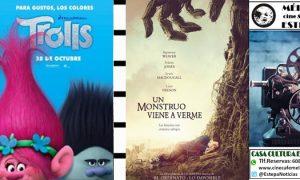 Cine en Estepa: «Trolls» y «Un monstruo viene a verme»