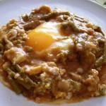 Recetas de la comarca de Estepa: Mojete de espárragos