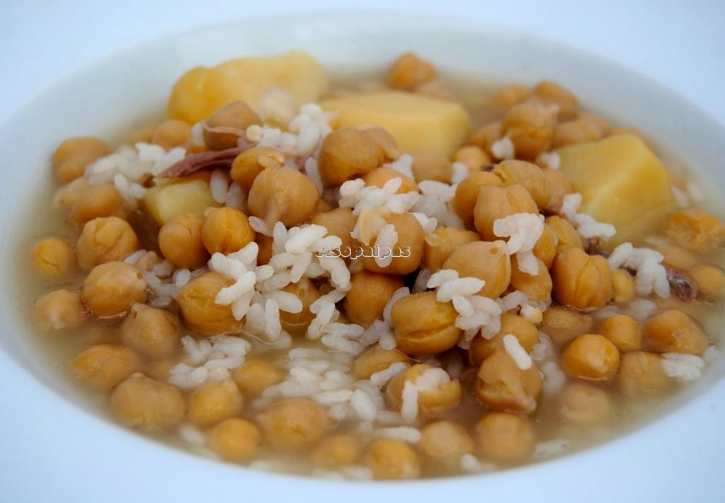 Recetas de la comarca de Estepa: Olla con arroz