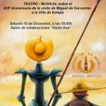 """Teatro Musical en Estepa: """"El Ingenioso Hidalgo"""""""