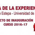 Inauguración del Aula de la Experiencia 2016-2017 en Estepa