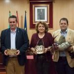 El Ayuntamiento de Estepa presenta a los Reyes Magos de la Cabalgata 2017