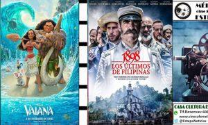 Cine en Estepa: «1898, los últimos de Filipinas» y «Vaiana»