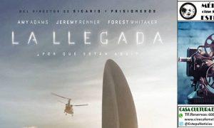 Cine en Estepa: «La Llegada»