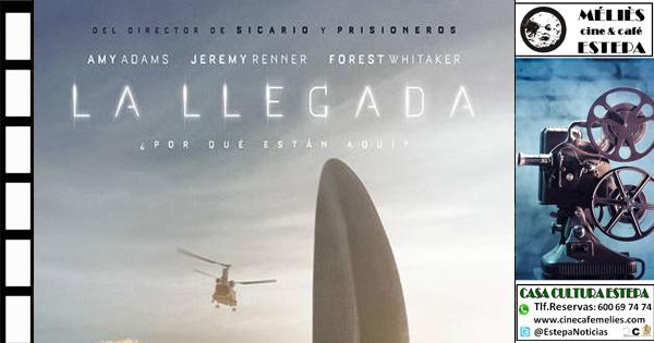 "Cine en la Casa de la Cultura de Estepa: ""La Llegada"""