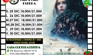 Cine en Estepa: «Rogue one. Una historia de Star Wars»