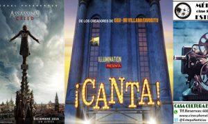 Cine de Reyes en Estepa: «Assasin´s Creed» y «Canta»