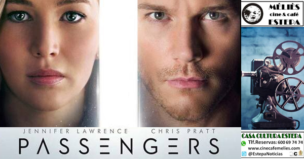 """Cine en Estepa: """"Passengers"""""""