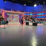 Asiste como público de Estepa al nuevo programa de Toñi Moreno