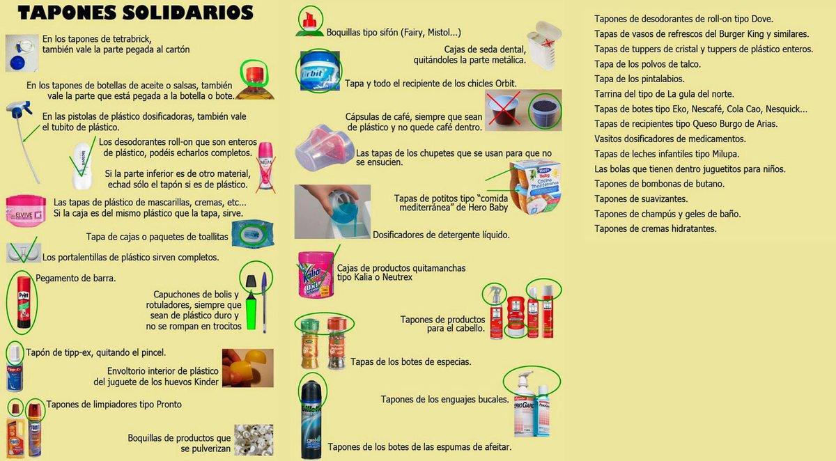 Recogida solidaria de tapones en Estepa