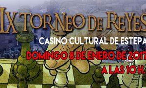 IX edición del Torneo de Reyes de Ajedrez en Estepa