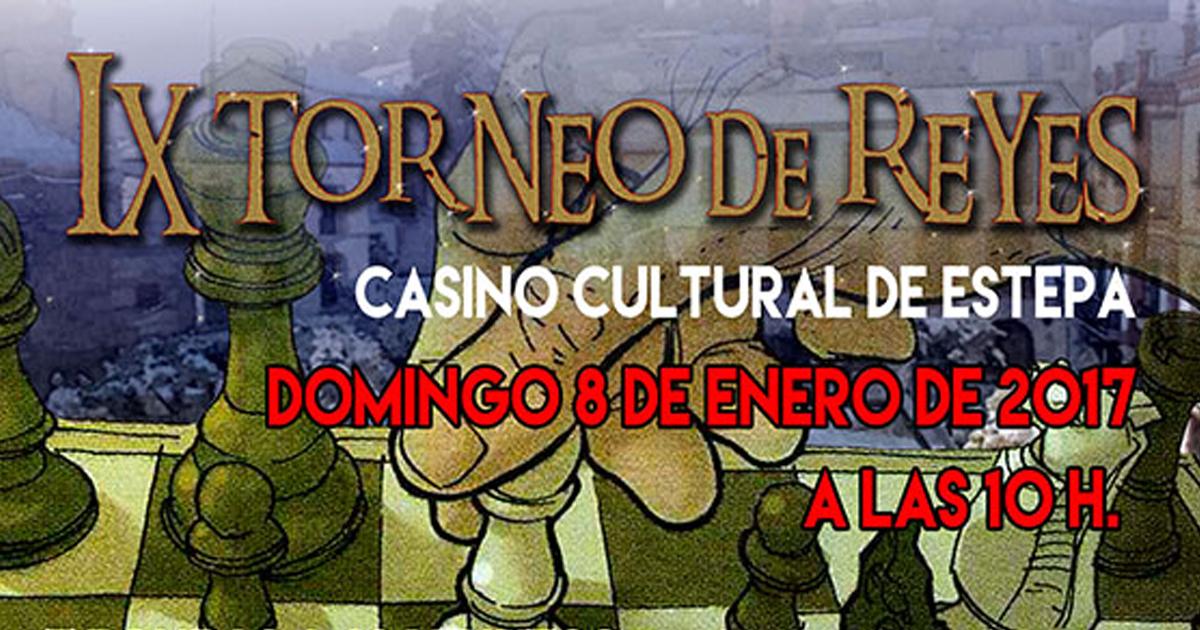 IX edición del Torneo de Reyes de Ajedrez