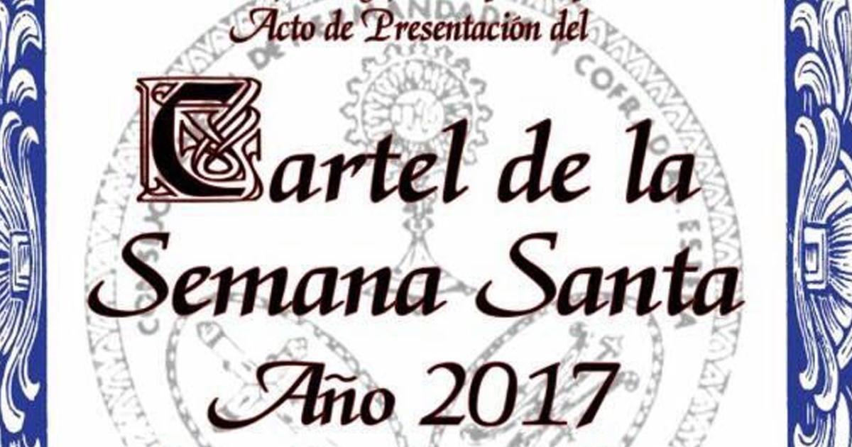 Acto de Presentación del Cartel de la Semana Santa de Estepa 2017