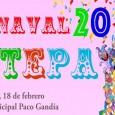 El próximo sábado 18 de febrero en la Caseta Municipal Paco Gandía, se celebrará la fiesta del Carnaval de Estepa 2017 a partir de las 19:00.