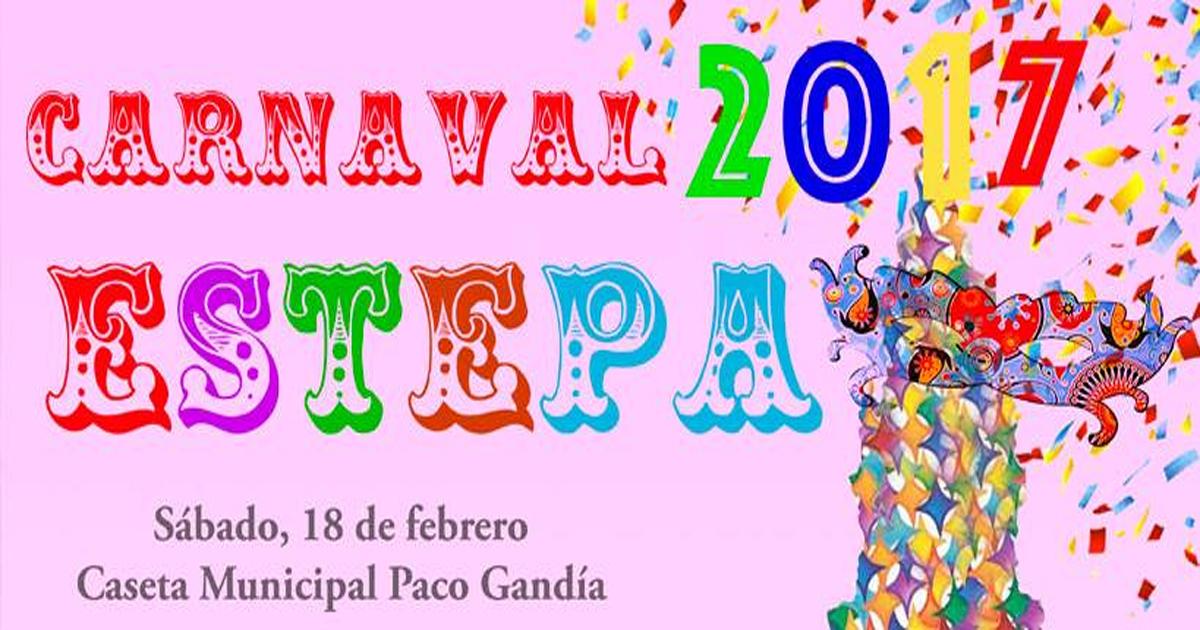 Programa del Carnaval 2017 en Estepa