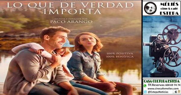 """Cine Solidario en Estepa: """"Lo que de verdad importa"""""""