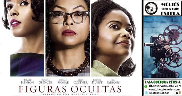 """Cine en la Casa de la Cultura de Estepa: """"Figuras ocultas"""""""