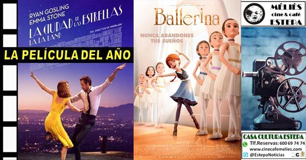 """Cine en Estepa: """"Ballerina"""" y """"La, La, Land. La ciudad de las estrellas"""""""