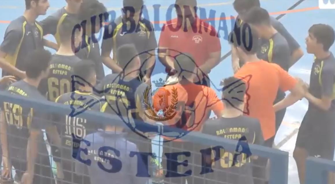 El juvenil masculino del Club Balonmano Estepa luchará por el ascenso