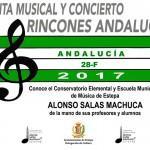 Visita musical y concierto del Conservatorio Elemental y Escuela Municipal de Música de Estepa