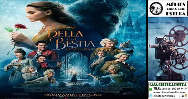 """Cine en Estepa: """"La Bella y la Bestia"""""""