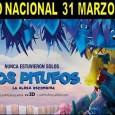 """Este viernes, 24 de marzo, se estrenará en el Cine de la Casa de la Cultura de Estepa la película """"Los Pitufos: La Aldea Escondida"""", coincidiendo con el estreno a nivel nacional."""