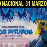 """Cine en Estepa: """"Los Pitufos: La Aldea Escondida"""""""