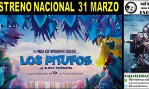 Cine en Estepa: «Los Pitufos: La Aldea Escondida»