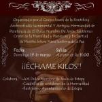 """III Ensayo Solidario """"Échame kilos"""" en Estepa"""