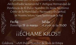 III Ensayo Solidario «Échame kilos» en Estepa