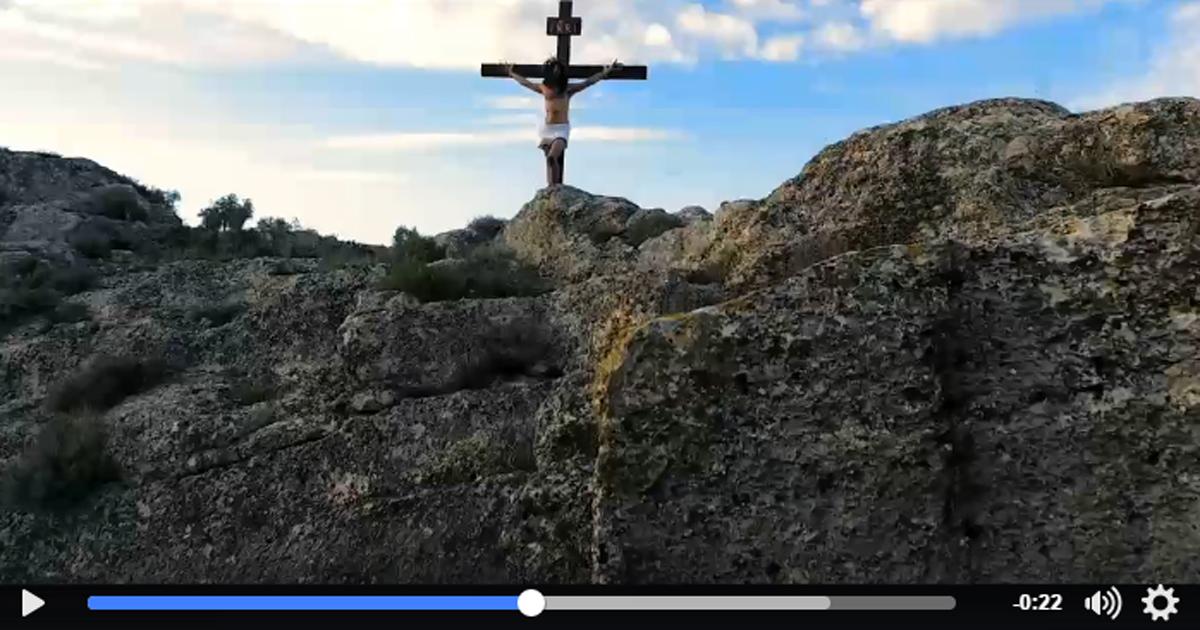 Nuevo avance de INRI, la película de la Semana Santa de Estepa