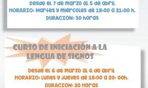 En marzo comienzan dos cursos para jóvenes en Estepa