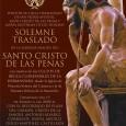 Este domingo a las 20:00 en Estepa, se llevará a cabo el Solemne Traslado de la Sagrada Imagen del Santo Cristo de las Penas