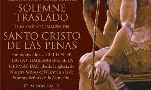 Solemne Traslado en Estepa de la Sagrada Imagen del Santo Cristo de las Penas