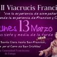 Hoy a partir de las 19:30 en Estepa, se llevará a cabo el II Viacrucis Franciscano que partirá desde Santa Clara hasta San Francisco caminando por el Cerro de San Cristóbal