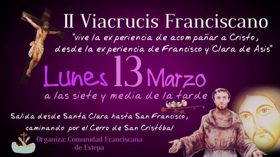 Viacrucis Franciscano en el Cerro de San Cristóbal (Estepa)