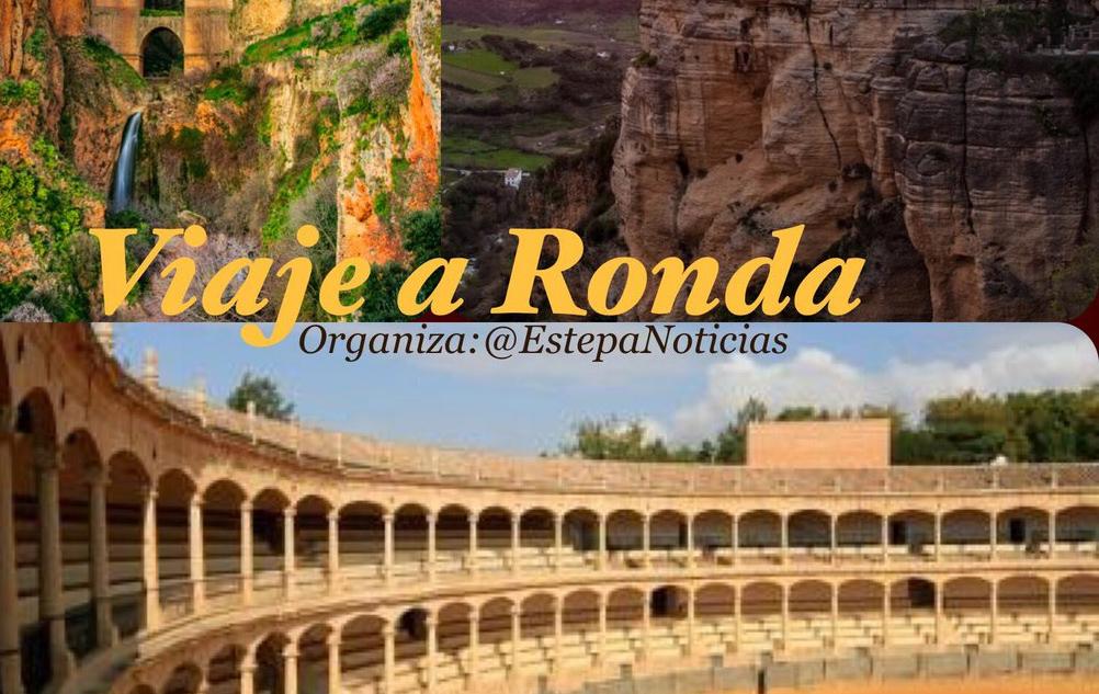 Viaja desde Estepa a Ronda con @Estepanoticias