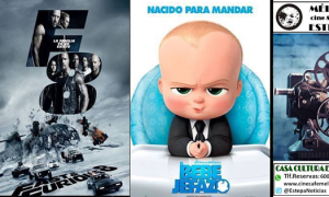 Cine en Estepa: «Fast & Furious 8» y «El bebé jefazo»