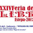 """Con motivo de la XXIV Feria del Libro de Estepa, Miguel Fernández Alfaro dará una conferencia bajo el título """"Mitología del Firmamento""""."""