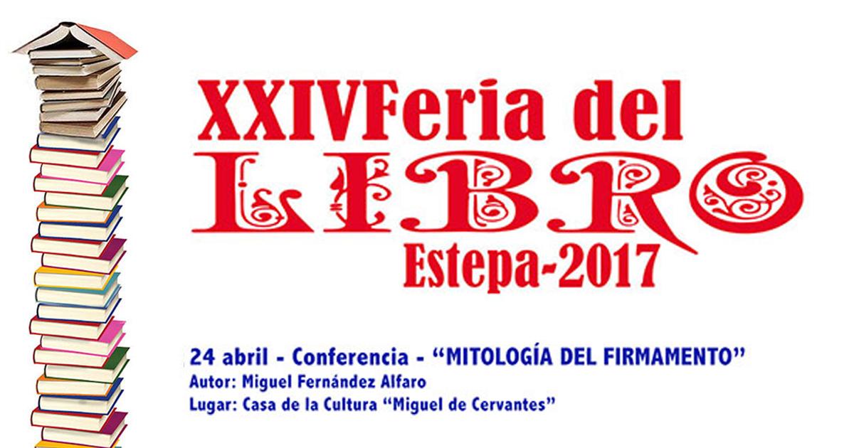 """Conferencia en Estepa: """"Mitología del Firmamento"""""""