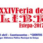 Cuentacuentos en la Feria del Libro de Estepa 2017