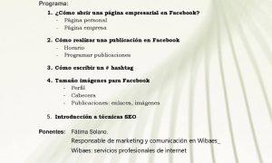 Curso de iniciación a la red social Facebook en Estepa