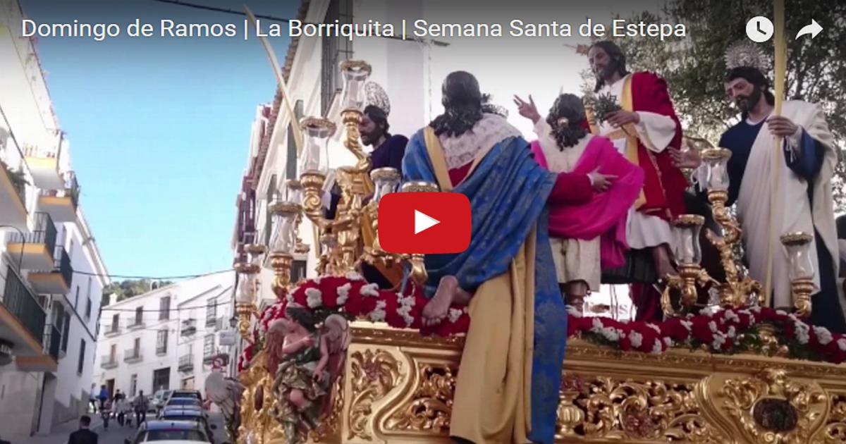 La Borriquita en la Semana Santa de Estepa