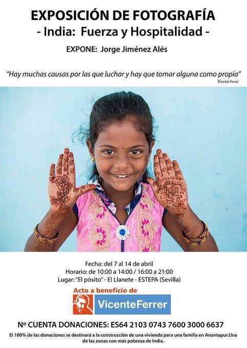 """Exposición de Fotografía en Estepa: """"India: Fuerza y Hospitalidad"""""""