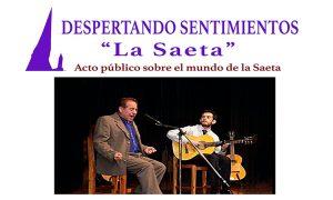 Acto en Estepa sobre la Saeta en la Semana Santa