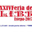 Con motivo de la XXIV Feria del Libro de Estepa 2017, tendrá lugar una jornada de puertas abiertas en la Torre de la Victoria.